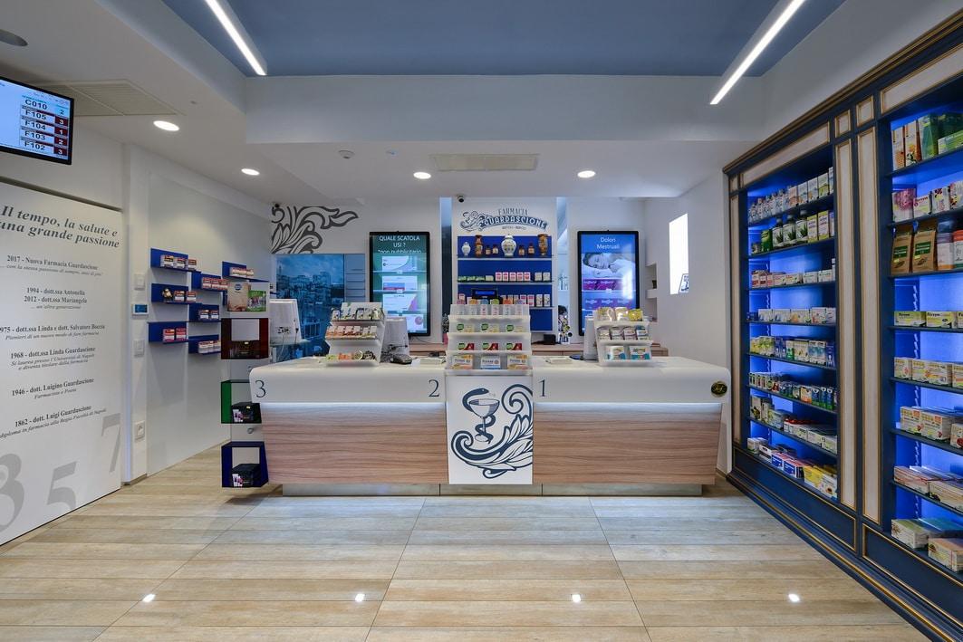 Banchi farmacia Napoli