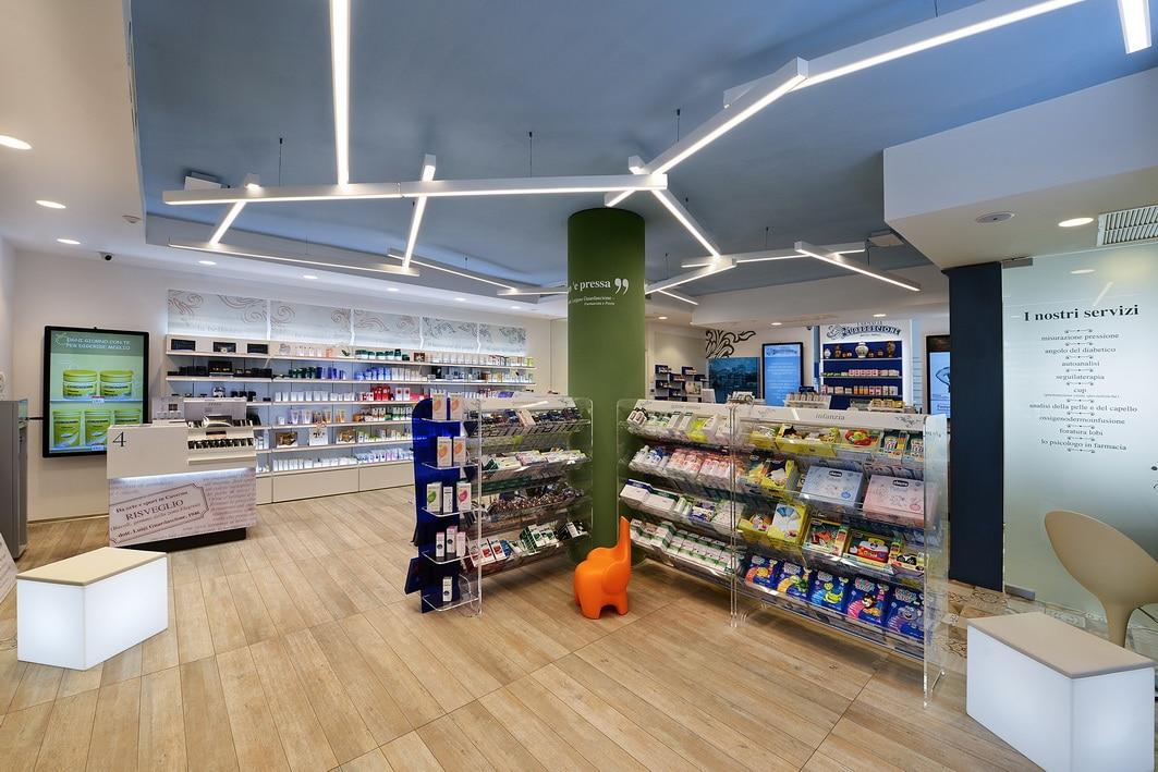 Arredamenti farmacie Napoli