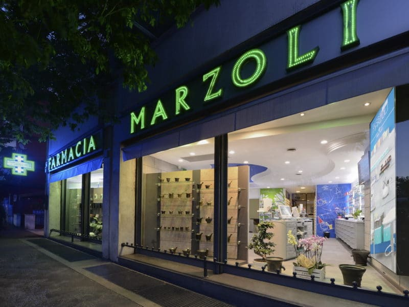 Arredamento farmacie Roma