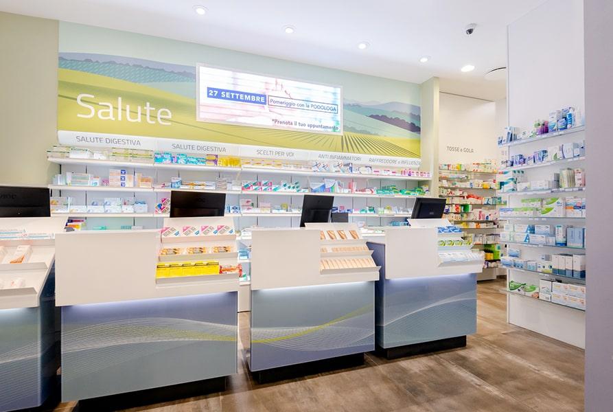 Banconi farmacie Sartoretto Verna