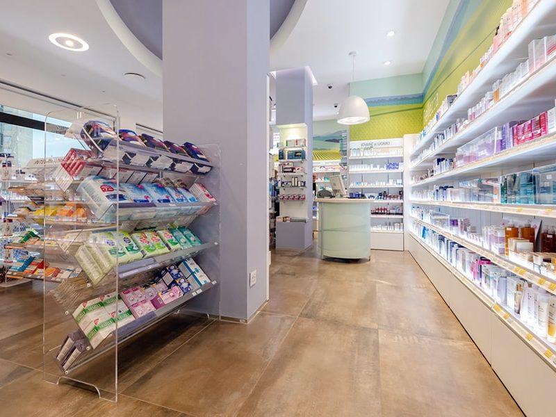 arredamenti farmacie Sartoretto Verna