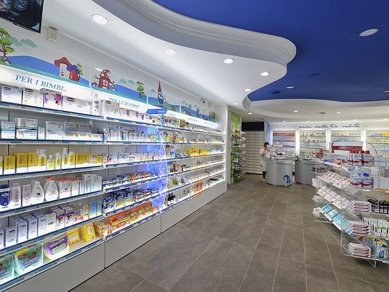 Mobili per farmacia Sartoretto Verna