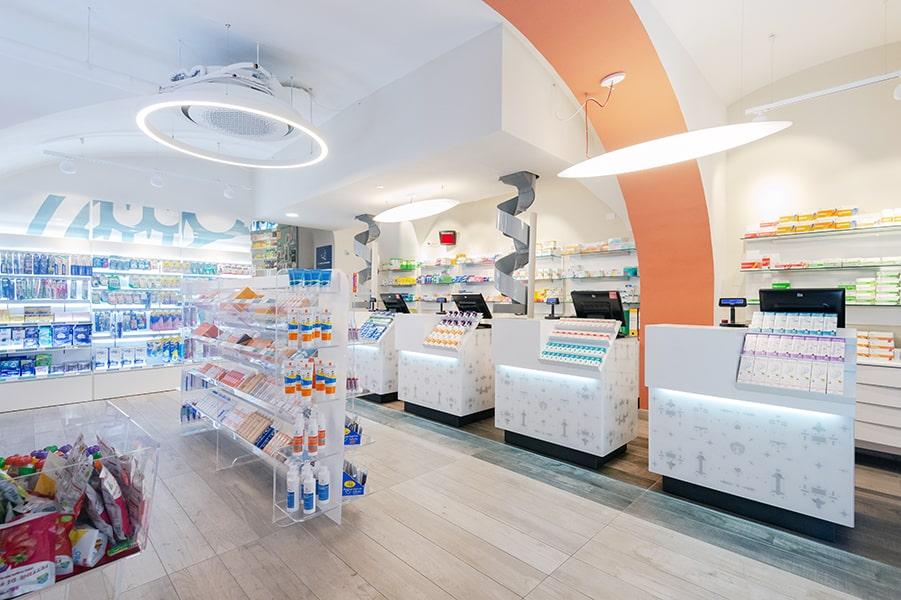 Banchi farmacie Sartoretto Verna