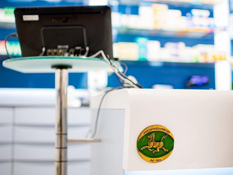 Computer banco farmacia