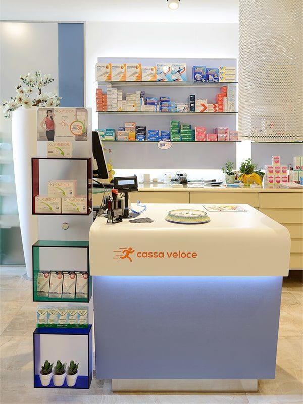 cassa veloce per farmacia