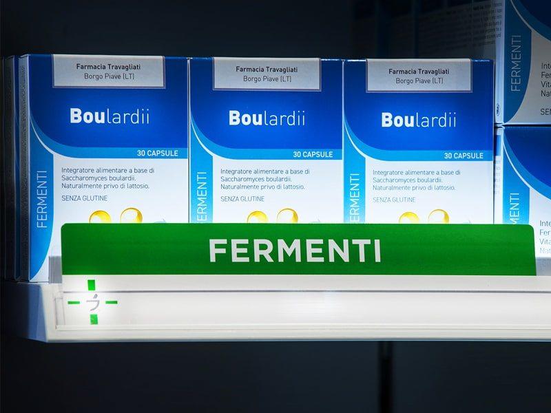 illuminazione arredo per Farmacie RAL 8.2