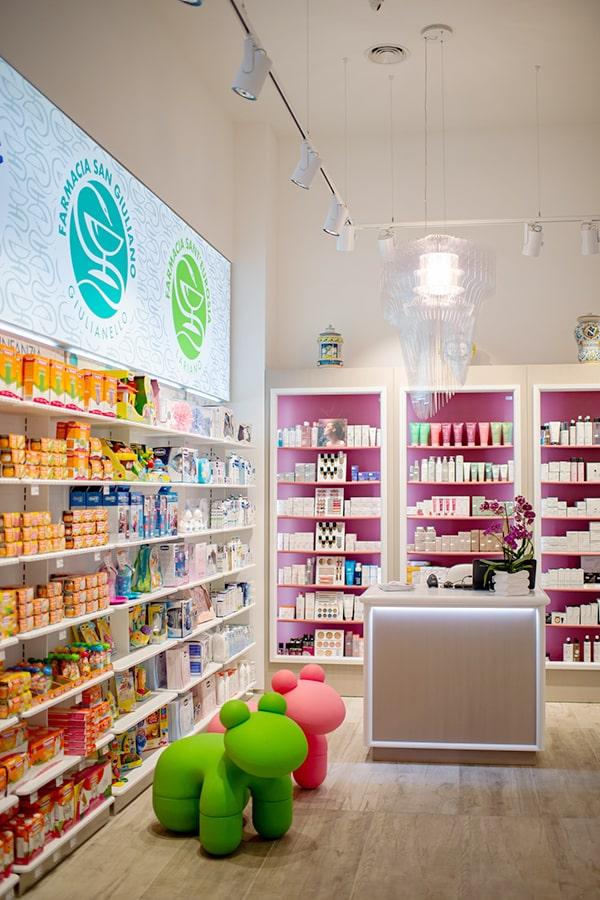 Banco classico farmacia