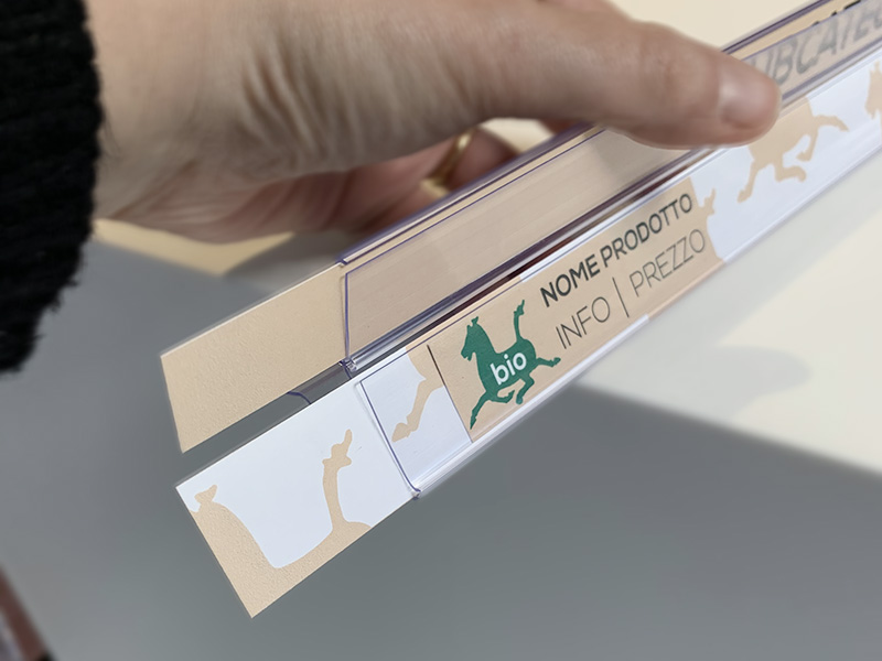 Portaprezzi in PVC Sartoretto Verna™