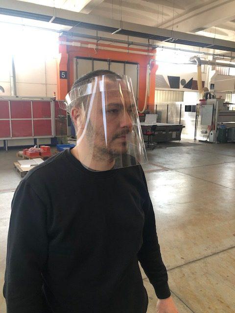Mascherina trasparente