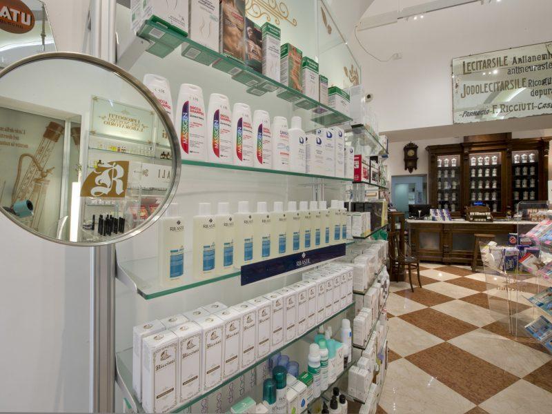 Antico e moderno in Farmacia