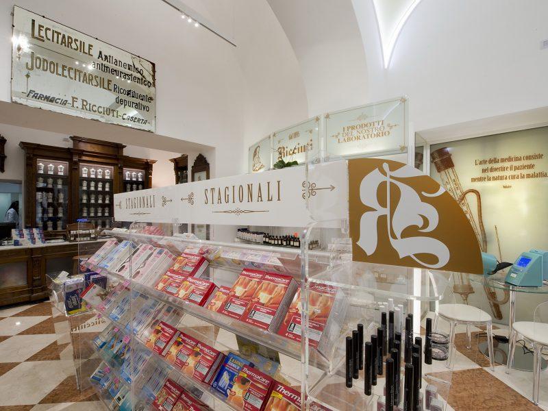 Gongole plexiglas antica farmacia