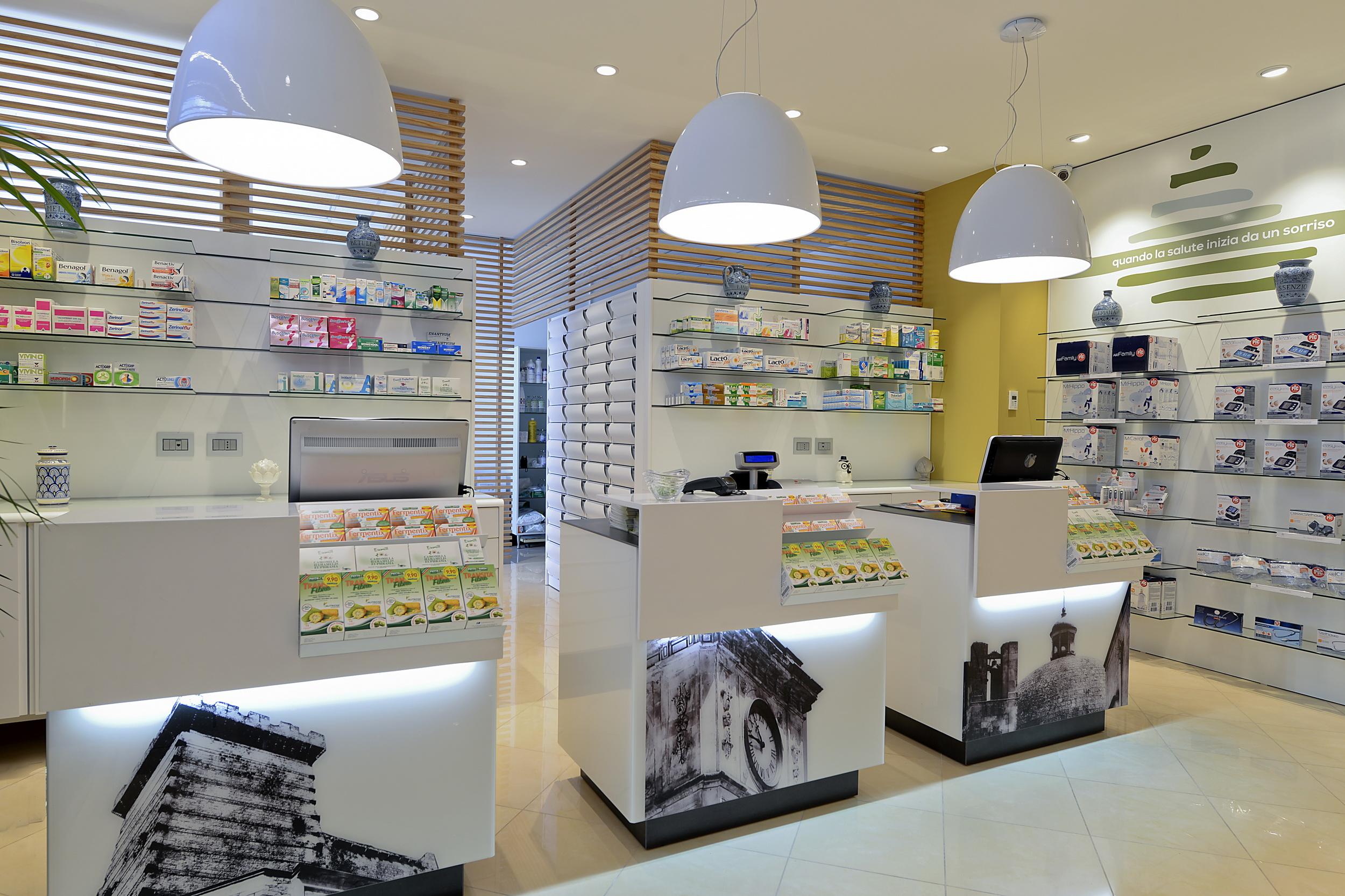 Banchi farmacia Ricci Ceglie Messapica