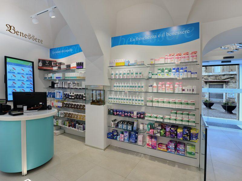 Mobili settore cosmesi farmacia