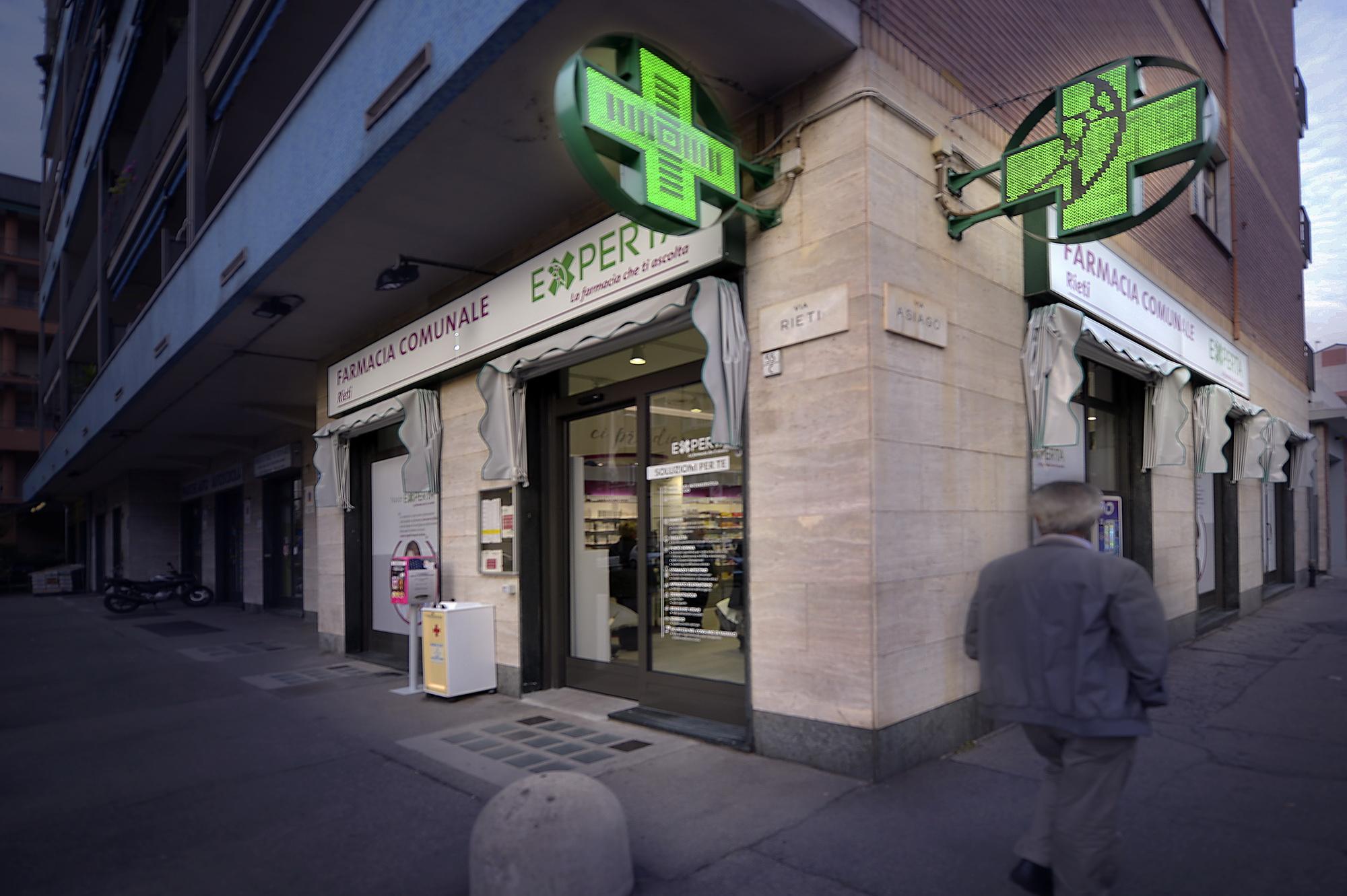 Concept design farmacie Torino