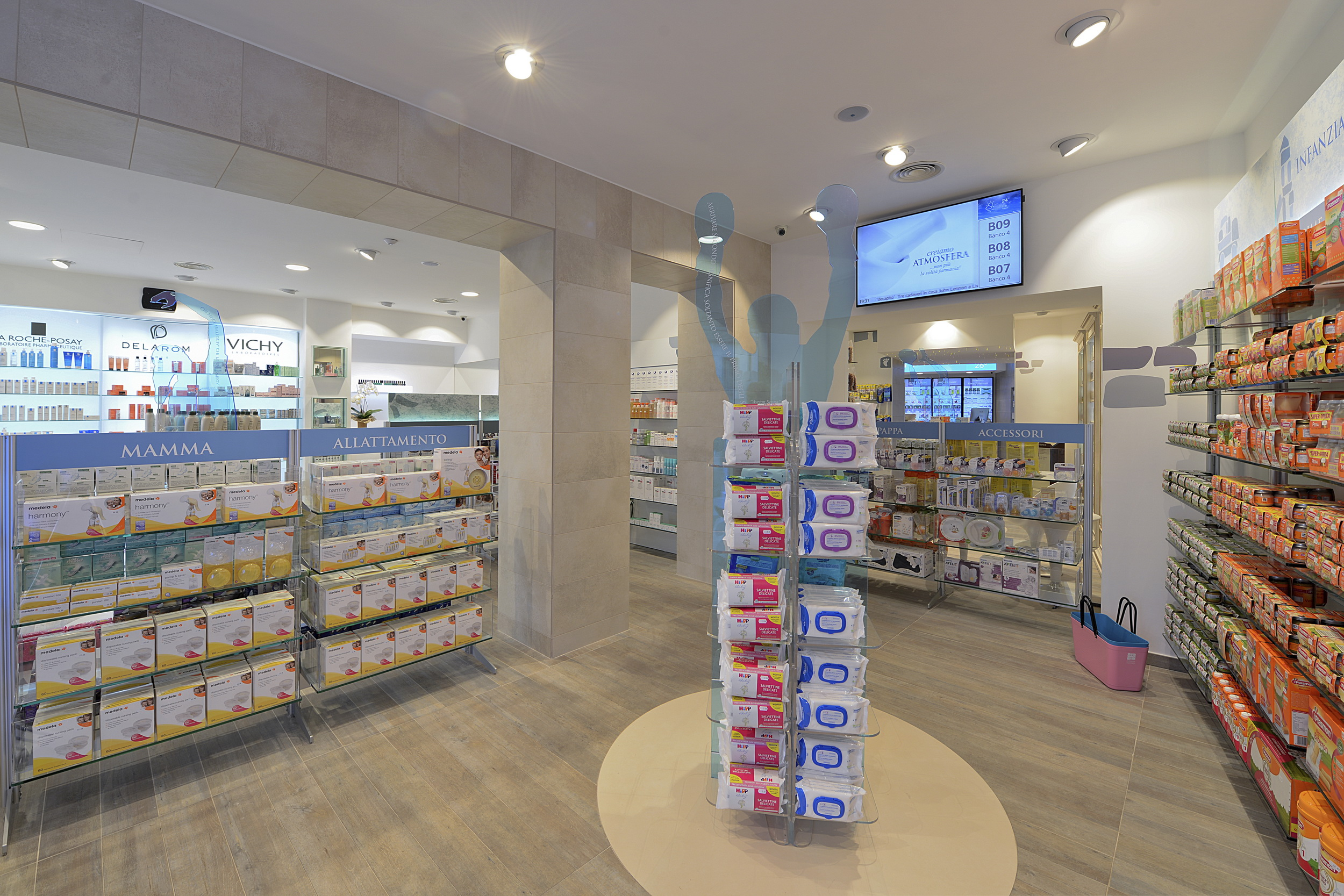 Concept farmacia del Tricolle