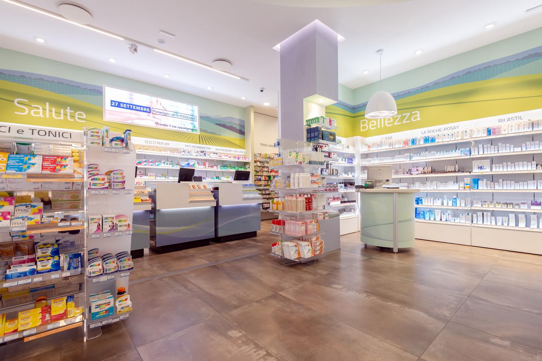 Ristrutturazione farmacia Beccaria Novi Ligure