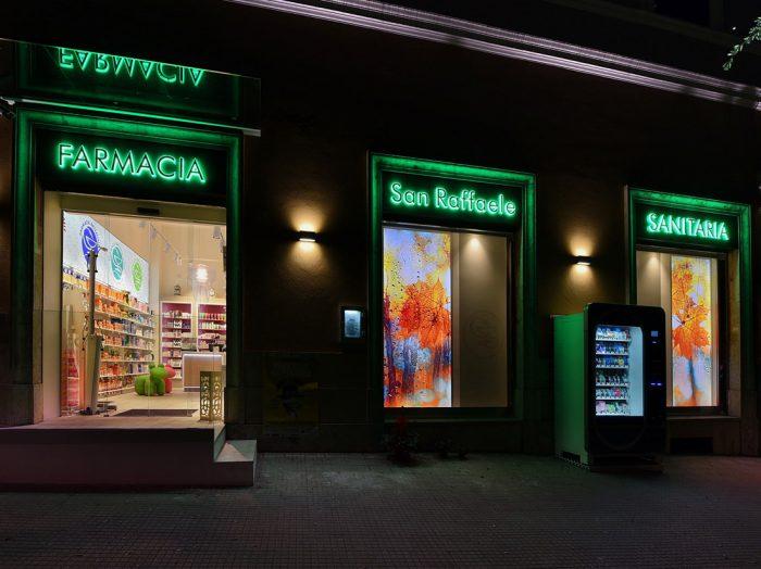 Concept farmacia SAN RAFFAELE – GRUPPO MONTECUOLLO