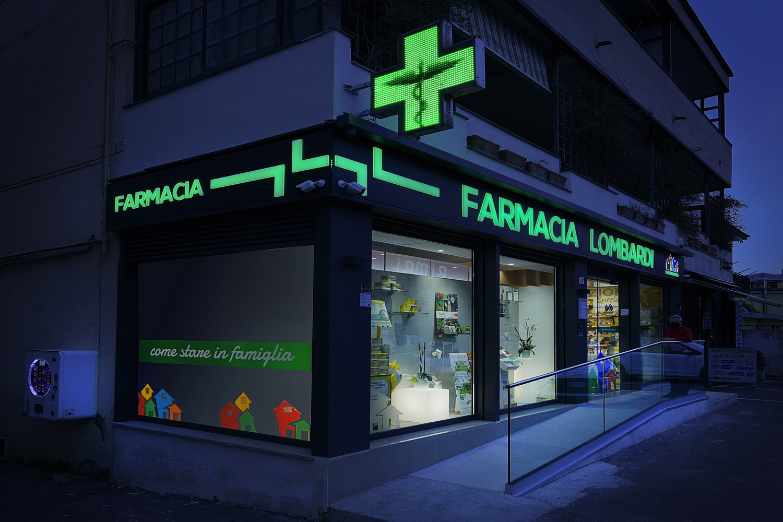 re-branding gruppo farmacie