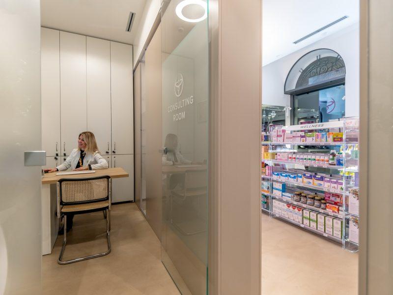 Arredamento Farmacia Brescia