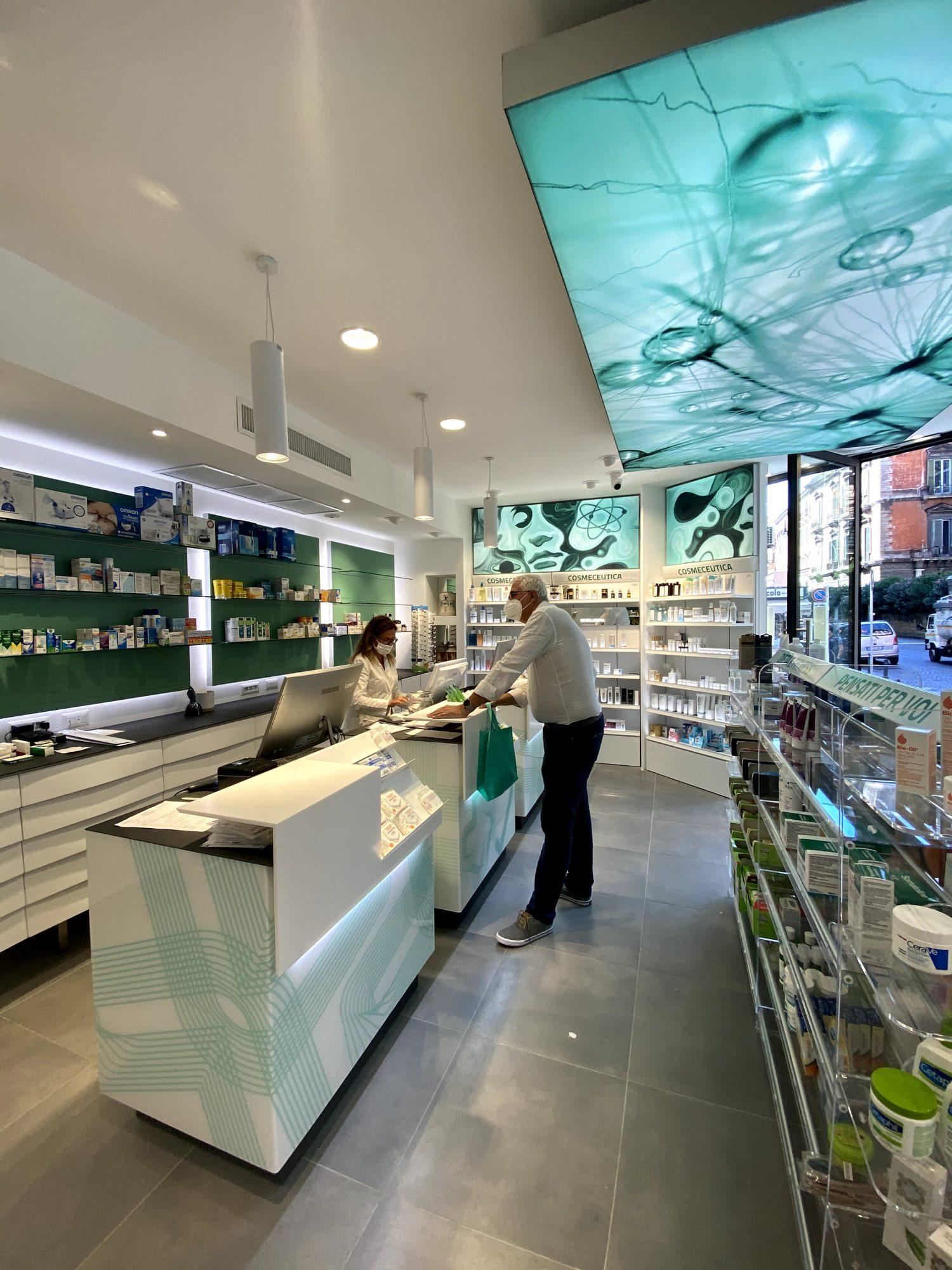 Ristrutturazioni farmacie Napoli