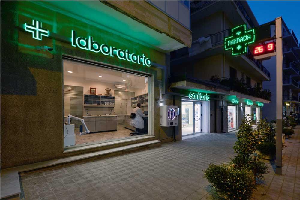 laboratorio farmacia